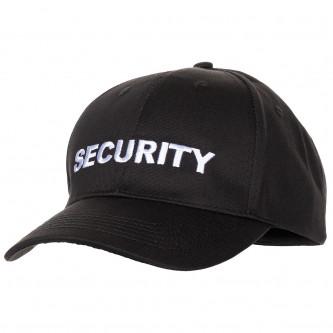 Американска шапка  черна с  бродиран надпис Security