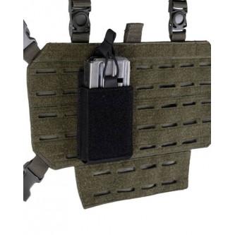 Калъф за муниции   единичен   двустранно веркро   черен MIL-TEC