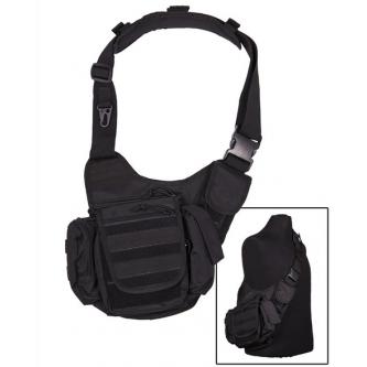 Чанта тактическа многофункционална BLACK SLING MIL-TEC