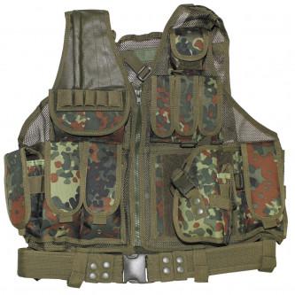 """Тактическа жилетка """"USMC"""" с колан и кобур Flectarn"""