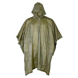 Дъждобран   пончо  винил   цвят  олив