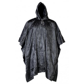 Дъждобран  пончо  винил   цвят черен