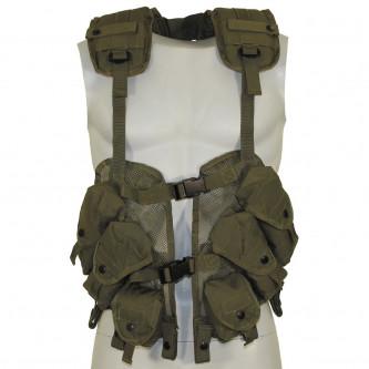"""Тактическа жилетка , модел от САЩ  """"Load Bearing"""", OD green"""