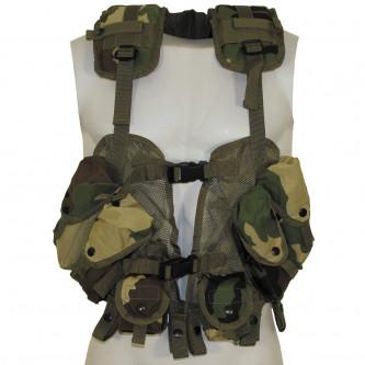 """Тактическа жилетка , модел от САЩ """"Load Bearing"""" woodland"""