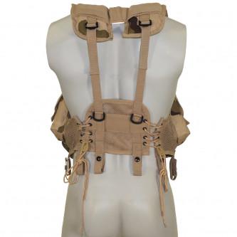 """Тактическа жилетка , модел от САЩ """"Load Bearing""""3 col. desert"""