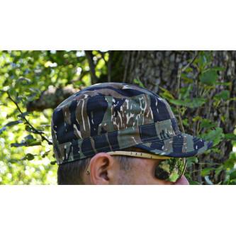 Шапка с козирка , модел , US BDU Field Cap, Rip Stop, tiger stripe  , 100% памук.