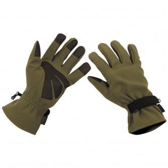 Ръкавици тактически , '' Softshell, OD green''