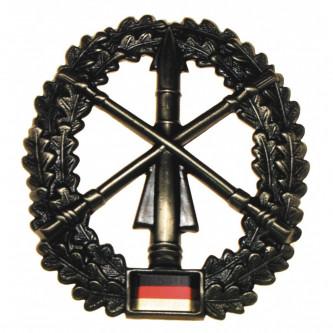 """Отличителен знак за барета""""Heeresflugab.""""  , немска армия , метален"""