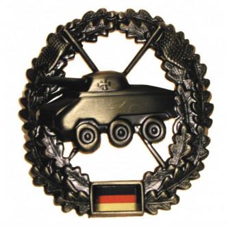 """Отличителен знак за барета """"Panzeraufklärer"""",  , немска армия , метален"""