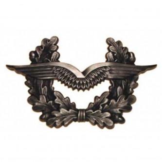 "Отличителен знак за шапка   ""Luftwaffe""  , немска армия , метален"