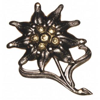 """Отличителен знак за барета """"Edelweiss""""  , немска армия , метален"""