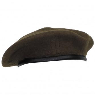 Барета от армията на Великобритания ,'' OD green'', ползвана