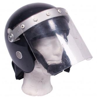Каска полицейска със защитен шлем , Великобритания , ползвана