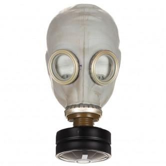 Газова маска , модел от армията на бившия СССР , комплект с филтър и транспортна чанта