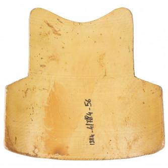 Предпазна плоча  Kevlar за гърдите или гърба , ползвана ,  40 x 43 cm