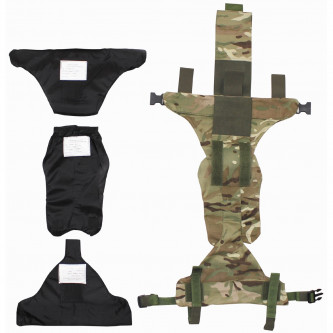 GB тазов протектор, MTP camo, със защита. инкрустация