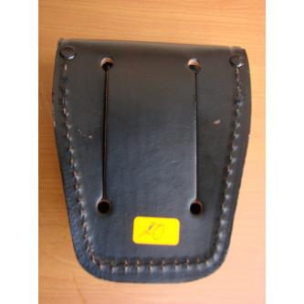 Калъф за белезници , кожен , черен , модел 29643 .