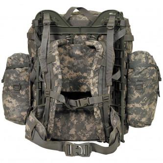 """Военна раница от САЩ ,  """"Molle II light"""" ,  AT-digital,със странични джобове"""
