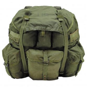 Американска военна раница   Alice Pack LARGE  OD green   с 2 странични джоба ползвана
