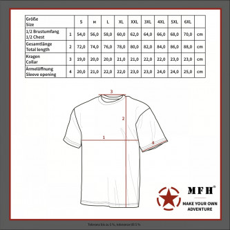 Тениска , армейска , US classic-style urban, 170 g/m²