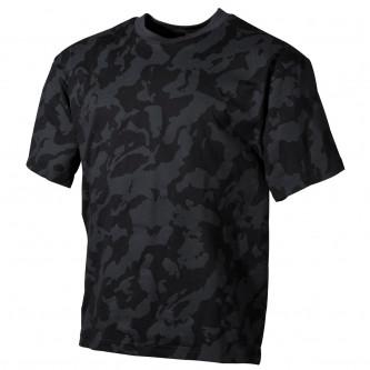 Тениска камуфлажна '' US classic-style night-camo, 170 g/m²''