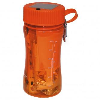 Комплект за оцеляване   Extreme   34 части    оранжево-прозрачен