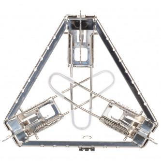 Подставка за гърне  сгъваема  регулируема по височина  Неръждаема стомана