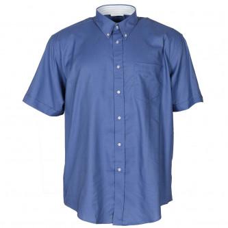 Риза с къс ръкав , цвят син , армия на Нидерландия