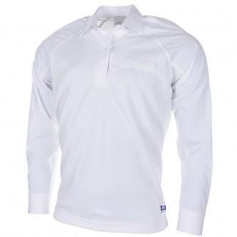 Английска полицейска риза , бяла , дълъг ръкав