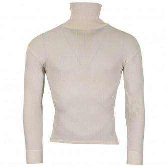 Австрийска трикотажна военна блуза, NOMEX, оребрена , с висока яка