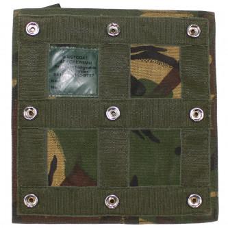 Кобур за пистолет с 2 джоба за муниции , DPM camo, Великобритания , ползван