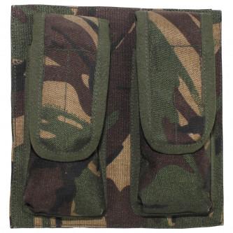 Калъф за муниции за пистолет , двоен , ползван ,  DPM camo , Великобритания
