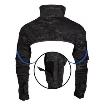 Блуза тактическа ''MULTITARN® BLACK TACTICAL BOLERO''MIL TEC