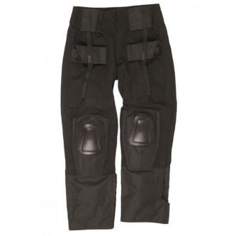 Панталон тактически '' MIL-TEC WARRIOR Black  '' с вградени протектори за колене