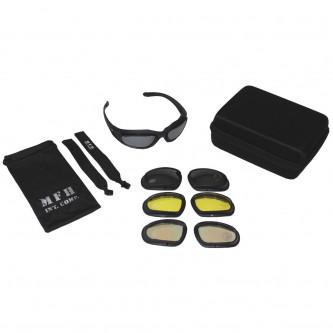 """Очила тактически , модел  """"Assault"""" с 4 сменяеми филтъра"""