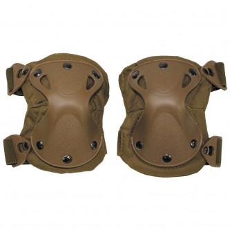 """Протектори за колене , модел  """"Defence"""" , цвят койот"""