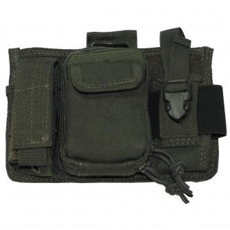 Тактическа чанта , с 5 броя джобове и система ''МОЛЛЕ'' , цвят ОЛИВ