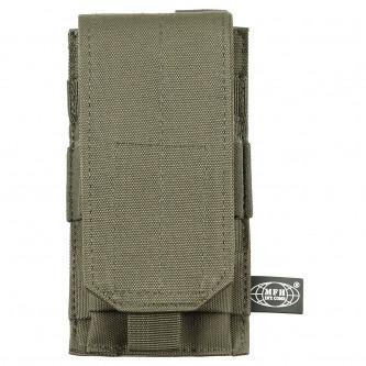 Калъф за муниции , единичен , '' OD green ''   , система ''МОЛЛЕ'' , полиестер .