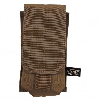Калъф за муниции , единичен ,  '' coyote tan''  , система ''МОЛЛЕ'' , полиестер .