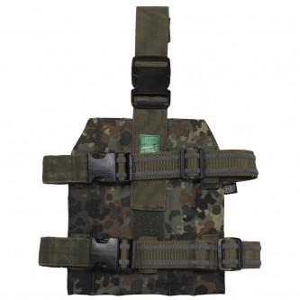 Основна плоча за система'' Molle'', закрепване на крака,'' BW camo''