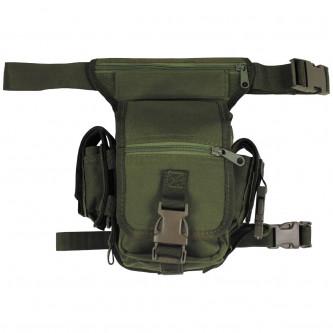 Чанта , тактическа , набедрена , '' OD green'' , модел ''Секюрити''