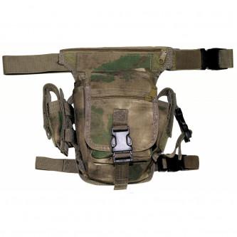 Чанта , тактическа , набедрена ,'' HDT camo green'', модел ''Секюрити''