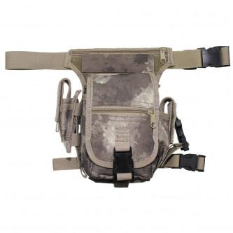 Чанта , тактическа , набедрена '' HDT camo''модел ''Секюрити''