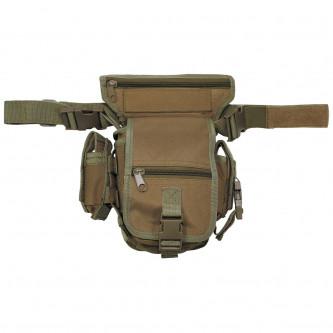Чанта , тактическа , набедрена ''  coyote tan '' модел ''Секюрити''