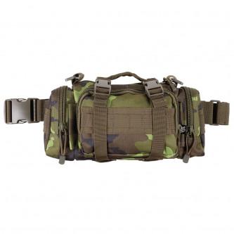 Тактическа камуфлажна чанта за носене през рамо , на ръка , на кръста и на гърдите , цвят''M 95 CZ camo  ''