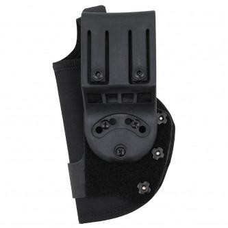Кобур за пистолет , с ПВЦ дистанционна скоба за колан .