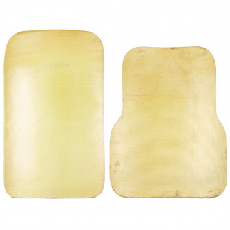 Предпазна плоча Kevlar за гърдите или гърба , Италия , ползвана