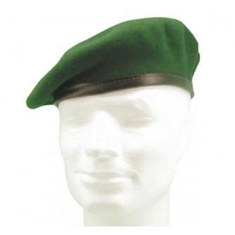 Немска военна барета , зелена.