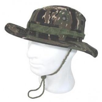 Шапка , модел'' US ARMY TIGER STRIPE CAMO JUNGLE '' (RIP-STOP) .