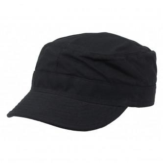Шапка с козирка , модел  , US BDU Field Cap, Rip Stop, black , 100% памук.